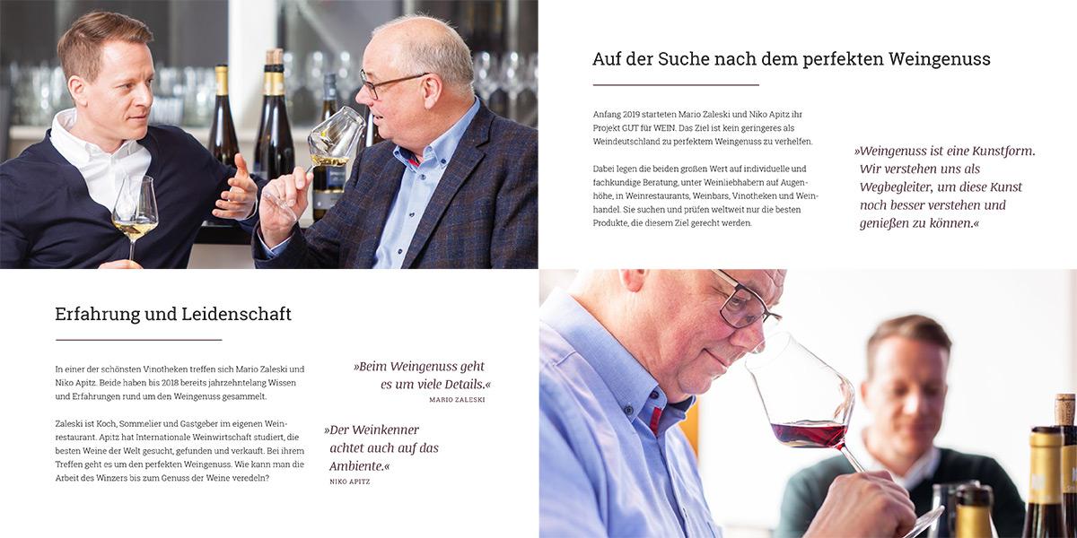 Gut für Wein